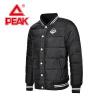 匹克棒球服 冬季新款 情侣男款 时尚保暖立领运动棉衣外套F564087