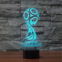 世界杯足球创意充电蓝牙音响创意七彩小夜灯台灯