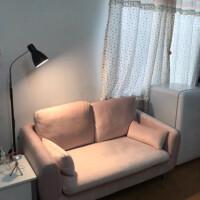 冠美简约落地灯欧式LED灯具折扣创意纹绣客厅卧室智能遥控护台灯