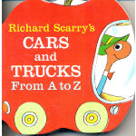 Richard Scarry's Cars and Trucks from A to Z  斯凯瑞童书-字母小车 (卡板书) ISBN 9780679806639