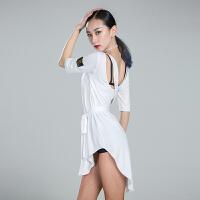 拉丁舞服装女舞裙新款跳舞蹈练功服套装连衣裙573