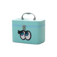 可爱便携小方包    手提化妆包   简约大号收纳盒小号   护肤化妆品箱