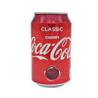 Cherry Coca Cola可口可乐汽水樱桃330ml (英国进口)