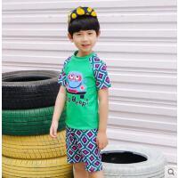 男童可爱游泳衣舒适沙滩泳装新款韩版温泉儿童帅气
