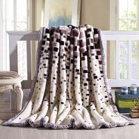 毛毯冬季用加厚�p�与p人�W生宿舍1.2m床�稳颂鹤�
