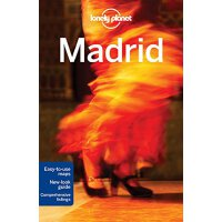 Lonely Planet Madrid 孤独星球城市旅行指南:马德里 英文原版