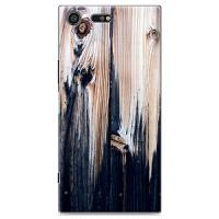 索尼Xperia 手机壳sony XZP保护套G8142仿木彩绘外壳