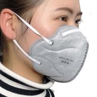 防雾霾口罩 透气活性炭防尘口罩 男女工业防尘pm2.5口罩