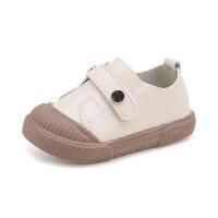 款款熊2018春季新款儿童小皮鞋单鞋1-3岁宝宝鞋子男童软底防滑学步鞋