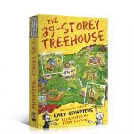 【顺丰速运】英文原版The 39-Storey Treehouse 小屁孩树屋历险记 39层 小学生英语课外阅读提升