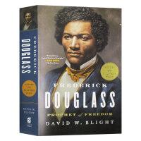 弗雷德里克道格拉斯传 英文原版 人物传记 Frederick Douglass Prophet of Freedom