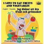 【预订】I Love to Eat Fruits and Vegetables: English Swedish Bi