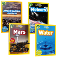 美国国家地理英语分级阅读读物第三阶段4册 自然人文动物百科 英文原版 National Geographic Kids