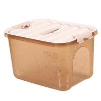 储物箱收纳盒玩具整理箱大中小号加厚手提收纳箱塑料衣服内衣