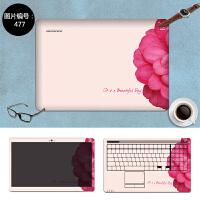 笔记本外壳贴膜DELL戴尔Inspiron灵越11-3147电脑保护贴纸11.6寸 SC-477 三面+键盘贴