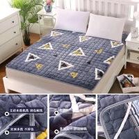 儿童床垫子1.5m床1.5米1.8米床褥宿舍单人学生保暖毛毯90、1.2