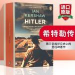 希特勒传 英文原版人物传记 Hitler 英国沃尔夫森历史学奖 英文版进口英语书籍正版现货 Penguin