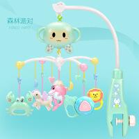 新生婴幼儿童玩具宝宝摇铃音乐旋转多功能床铃生日礼物5ks