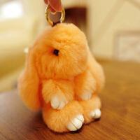 adfenna生日礼物 小兔子挂件兔公仔毛绒玩具獭兔兔毛挂饰布娃娃