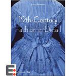 服装设计作品集 19世纪的时装时尚细节 复古服装服饰设计图书籍 19th-Century Fashion in Det