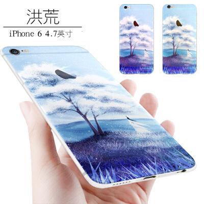 苹果6手机壳潮男个性创意iphone6女款软壳硅胶防摔新款6s六plus套