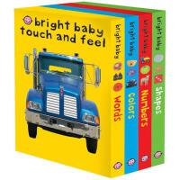 【预订】Bright Baby Touch & Feel Slipcase 2 Includes Words, Col