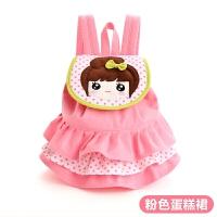 小虫家韩版幼儿园女童书包女孩双肩包女宝宝可爱背包1-3-5岁可爱