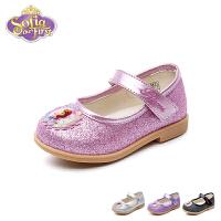迪士尼Disney童鞋18新款婴童皮鞋苏菲亚公主鞋女童时装鞋宝宝学步鞋 (0-4岁可选) DF0471