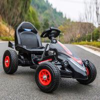 ?儿童电动车四轮卡丁车可坐男女宝宝遥控玩具汽车小孩充气轮沙滩车
