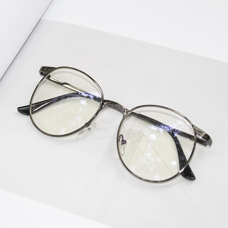 2018新款眼镜框女镜架眼睛潮韩版复古圆框平光男大脸成品近视镜 发货周期:一般在付款后2-90天左右发货,具体发货时间请以与客服协商的时间为准