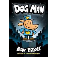 【现货】英文原版 神探狗狗的冒险卷1 精装漫画 Dog Man 8-12岁及以上 (Captain Underpant