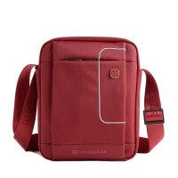 SWISSGEA 单肩包 经典系列竖款红色IPAD单肩斜挎包SA9926RE 红色