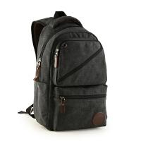 韩版潮流帆布包休闲男包学生书包双肩包户外背包旅行包电脑包