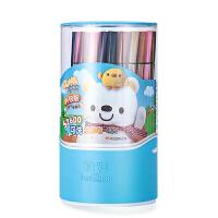 ?水彩笔套装36色幼儿园儿童绘画笔可水洗涂鸦笔填色笔?