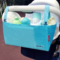 妈咪包外出宝宝储物袋 婴儿车挂包挂袋奶瓶便携收纳包袋推车