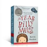神奇的一年 英文原版小说 The Year of Billy Miller 儿童启蒙故事绘本文学书 英文版课外阅读畅销