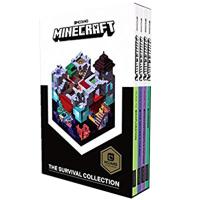 现货 我的世界:生存手册4本套装 新版 英文原版 Minecraft: The Survival Collection