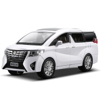 1:24丰田埃尔法商务车合金车模声光版汽车模型仿真金属玩具车