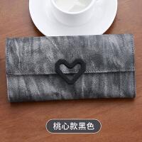 女士钱包女 长款 日韩版小清新多功能简约皮夹子学生时尚新款