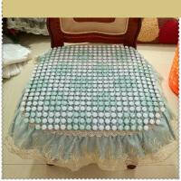夏季陶瓷沙发垫夏天电脑椅垫皮沙发凉垫汽车垫办公椅坐垫 45*45c/
