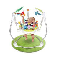 蹦跳欢乐园 宝宝跳跳椅乐园婴儿健身器架0-1岁益智玩具