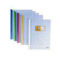 金得利 抽杆报告夹 HF289B B5/竖式 学生书皮试卷分类夹 文件夹 颜色随机5个售价