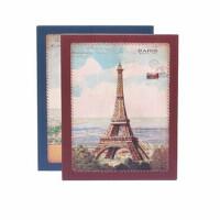 相册影集艾尚美复古铁塔4D/ 6寸相册200张相册相簿盒装