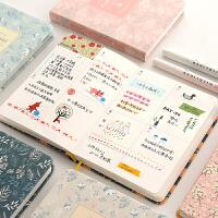 日式小清新樱花笔记本和风日记记事日程手账周计划日记本手帐本子