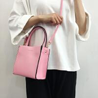 韩国立体小方包学院百搭简约纯色单肩女士斜跨包小包手提包斜挎包