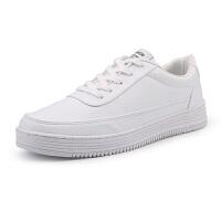 情侣小白鞋加大码男鞋45运动休闲板鞋46韩版青年透气白鞋47大号48