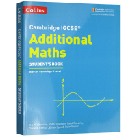 剑桥IGCSE附加数学考试学生用书 英文原版 Collins Cambridge IGCSE Additional Ma