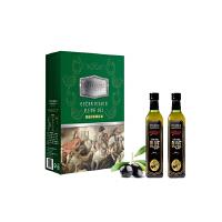 阿戈力特级初榨橄榄油骑士礼盒1000ml*2