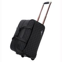 拉杆包男女手提旅行袋大容量旅游行李包袋可折叠登机箱包短途防水