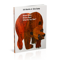 Brown Bear, Brown Bear, What Do You See? [Paperback] 棕熊、棕熊,